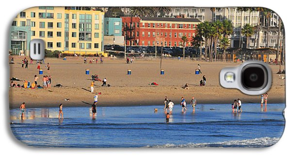 Santa Monica Beach  Galaxy S4 Case by Lynn Bauer