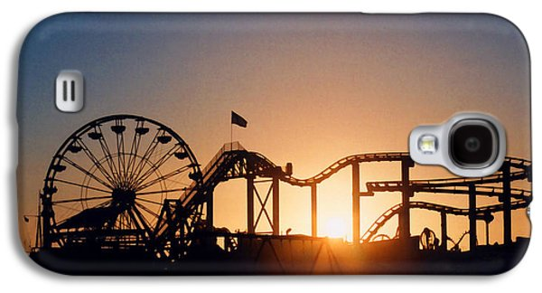 Santa Monica Pier Galaxy S4 Case by Art Block Collections
