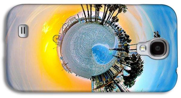 Santa Monica Pier Circagraph Galaxy S4 Case by Az Jackson