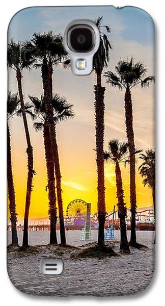 Santa Monica Palms Galaxy S4 Case