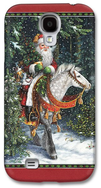 Santa Of The Northern Forest Galaxy S4 Case by Lynn Bywaters