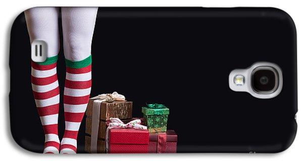 Santas Little Helper Galaxy S4 Case by Edward Fielding