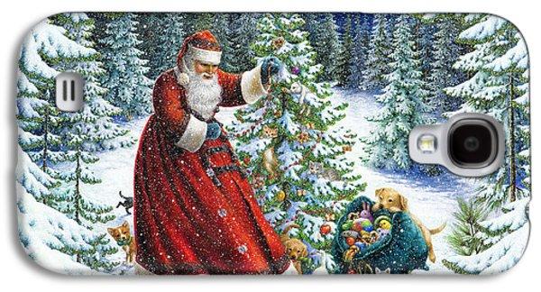 Santa's Little Helpers Galaxy S4 Case by Lynn Bywaters