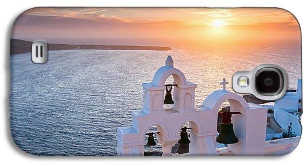 Santorini Sunset Galaxy S4 Case by Evgeni Dinev