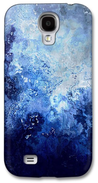 Sapphire Dream - Abstract Art Galaxy S4 Case