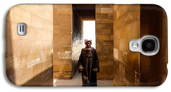 Galaxy S4 Case featuring the photograph Saqqara Temple by Anthony Baatz