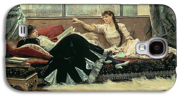 Sarah Bernhardt And Christine Nilsson Galaxy S4 Case by Julius Leblanc Stewart