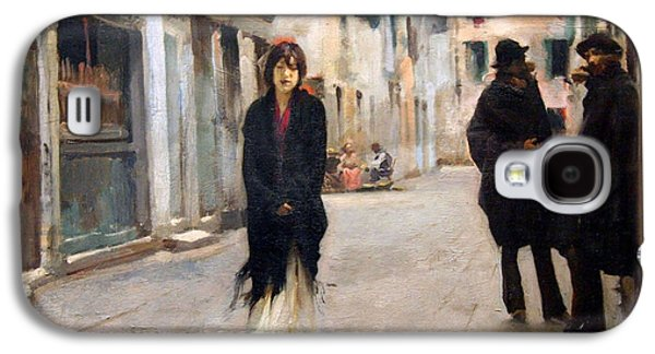 Sargent's Street In Venice Galaxy S4 Case by Cora Wandel