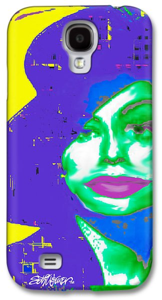 Sassy Lady In A Hat Galaxy S4 Case by Seth Weaver