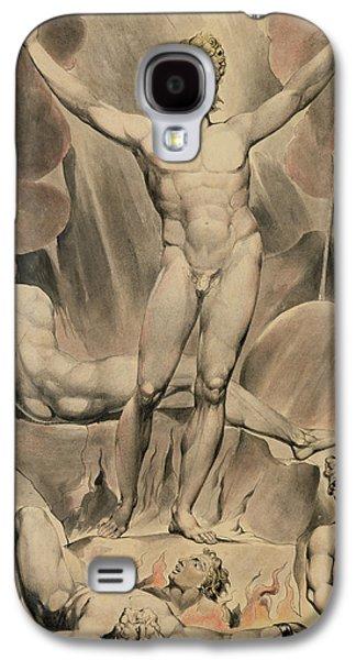 Satan Arousing The Rebel Angels, 1808 Galaxy S4 Case by William Blake