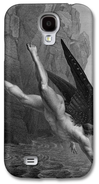Satan Plunges Into The River Styx Galaxy S4 Case by Richard Edmond Flatters