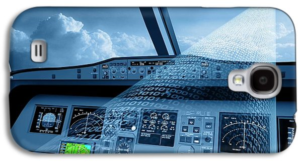 Satellite Air Traffic Control System Galaxy S4 Case by European Space Agency