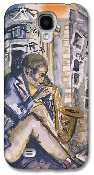 Sax Player, 1998 Wc On Paper Galaxy S4 Case