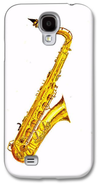 Saxophone Galaxy S4 Case by Michael Vigliotti