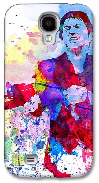 Scar Watercolor Galaxy S4 Case by Naxart Studio