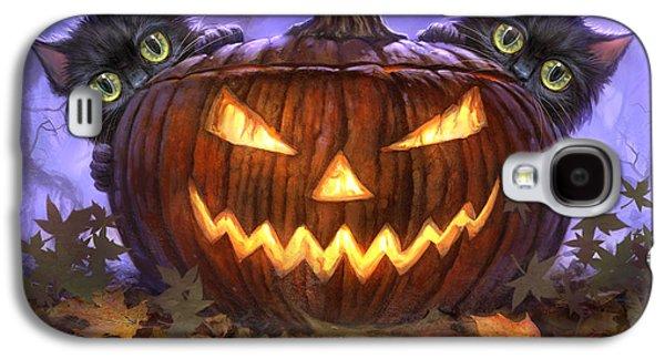 Scaredy Cats Galaxy S4 Case by Jeff Haynie