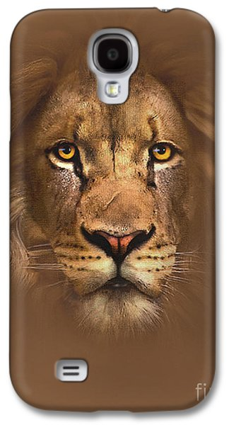 Scarface Lion Galaxy S4 Case by Robert Foster