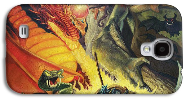 Scary Things Galaxy S4 Case by Gregg Hinlicky