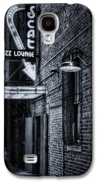 Scat Lounge In Cool Black And White Galaxy S4 Case