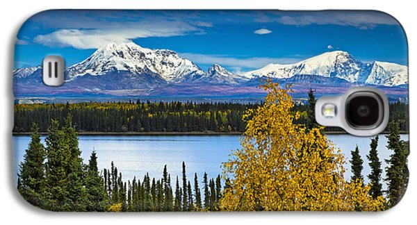 Scenic View Of Mt. Sanford L And Mt Galaxy S4 Case
