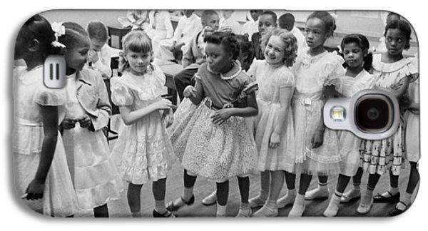 School Integration In 1955 Galaxy S4 Case