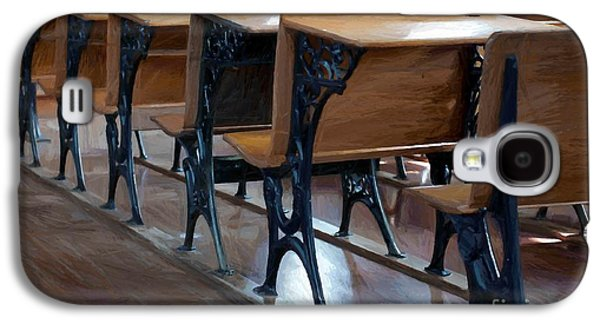 Schools Out For Summer - Pleasant Ridge Schoolhouse 1869 Galaxy S4 Case by Liane Wright
