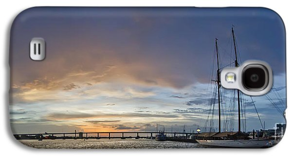 Schooner Germania Nova Sunset Galaxy S4 Case