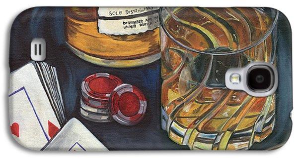 Scotch And Cigars 4 Galaxy S4 Case by Debbie DeWitt