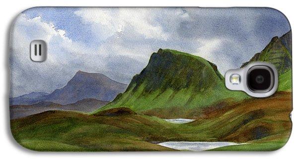 Scotland Galaxy S4 Case - Scotland Highlands Landscape by Sharon Freeman