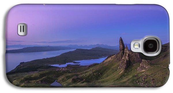 Travel Galaxy S4 Case - Scotland - Storr At Night by Jean Claude Castor