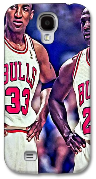Scottie And Michael Galaxy S4 Case