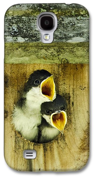 Screaming Hungry Galaxy S4 Case by Christina Rollo