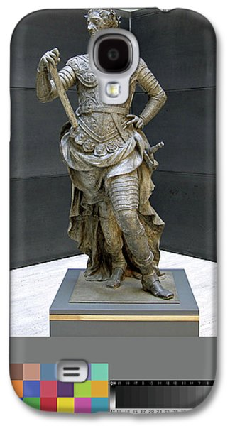 Sculpture, William IIi Inscribed On Rear Of Statue Galaxy S4 Case by Litz Collection