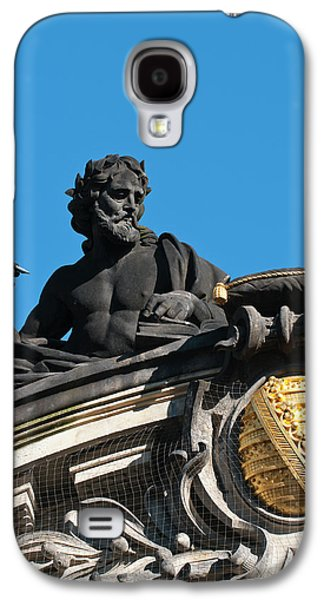 Sculptures On The Royal Art Academy Galaxy S4 Case by Michael Defreitas