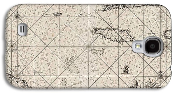 Sea Chart Of The South Coast Of Cuba And Jamaica Galaxy S4 Case