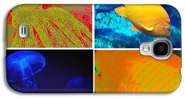 Sea Creatures Collage Galaxy S4 Case by Susan Garren