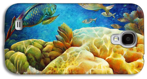 Sea Escape I -27x40 Galaxy S4 Case by Nancy Tilles