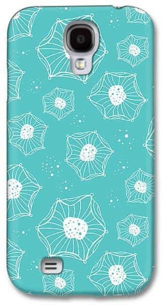 Sea Flower Galaxy S4 Case