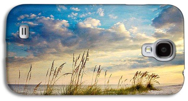 Beach Galaxy S4 Case - Sea Oats Sunset by Joan McCool