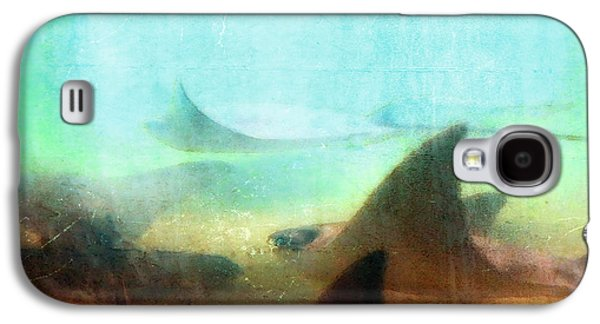 Sea Spirits - Manta Ray Art By Sharon Cummings Galaxy S4 Case by Sharon Cummings
