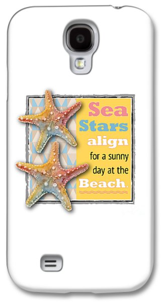 Sea Stars Align For A Sunny Day At The Beach. Galaxy S4 Case