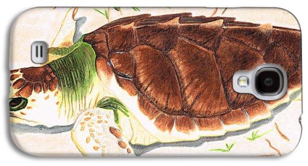 Sea Turtle Art By Sharon Cummings Galaxy S4 Case by Sharon Cummings