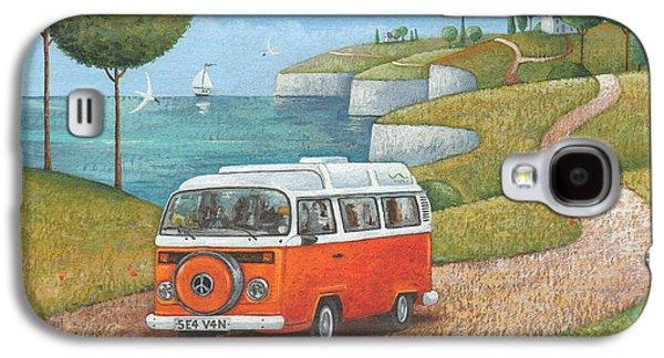 Sea Van Variant 1 Galaxy S4 Case by Peter Adderley