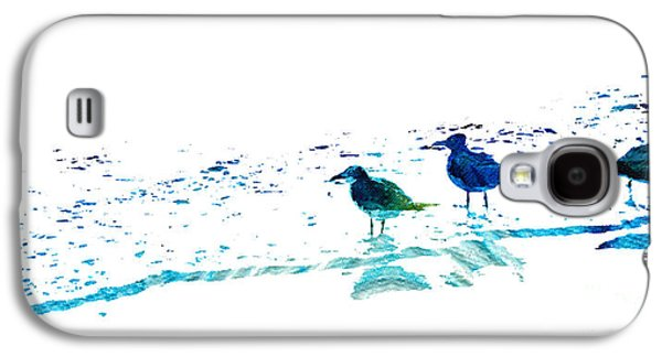 Seagull Art - On The Shore - By Sharon Cummings Galaxy S4 Case