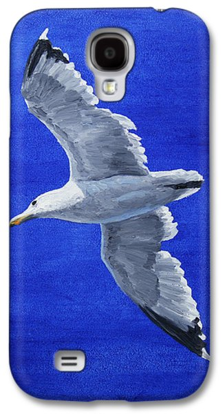 Seagull In Flight Galaxy S4 Case by Crista Forest