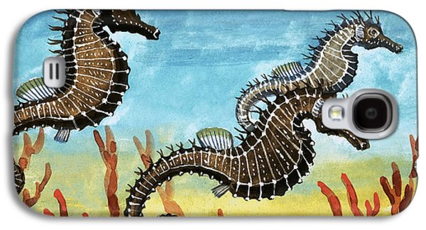Seahorses Galaxy S4 Case by English School