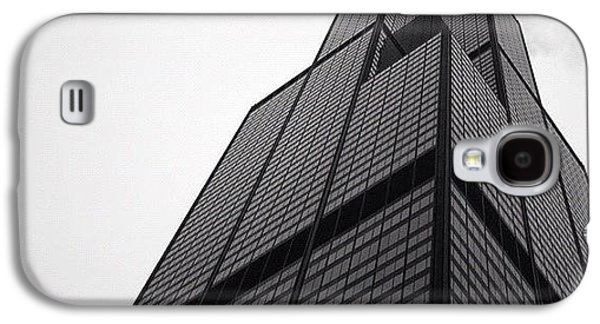 Light Galaxy S4 Case - Sears Tower by Mike Maher