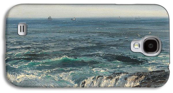 Seascape 1877 Galaxy S4 Case by Henry Moore