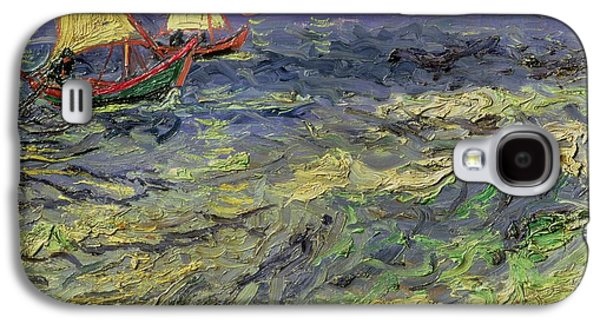 Seascape At Saintes-maries 1888 Galaxy S4 Case by Vincent van Gogh