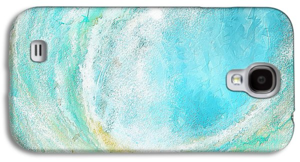 Seascapes Abstract Art - Mesmerized Galaxy S4 Case by Lourry Legarde